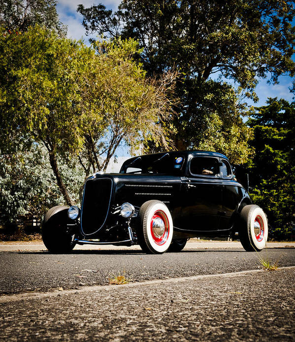 Ford Hot Rod Poster featuring the photograph The Classic Hot Rod by motography aka Phil Clark