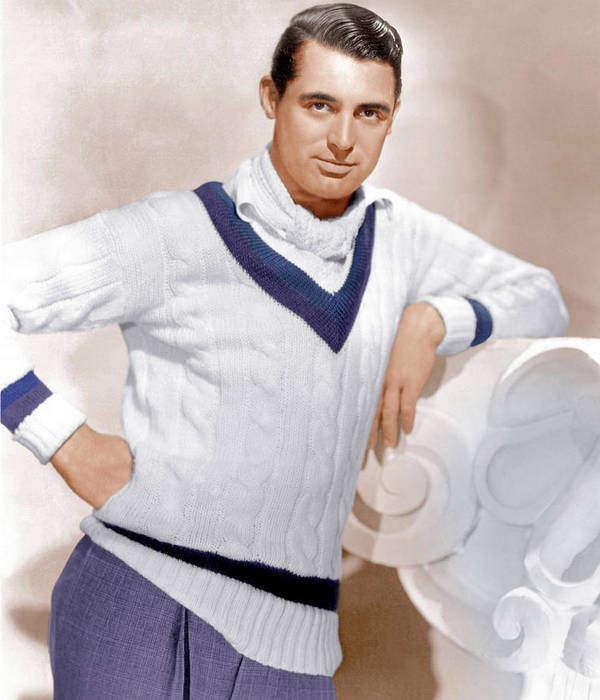 1930s Portraits Poster featuring the photograph Cary Grant, Ca. 1934 by Everett