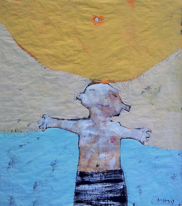 Age Poster featuring the painting Aetas No 7 by Mark M Mellon