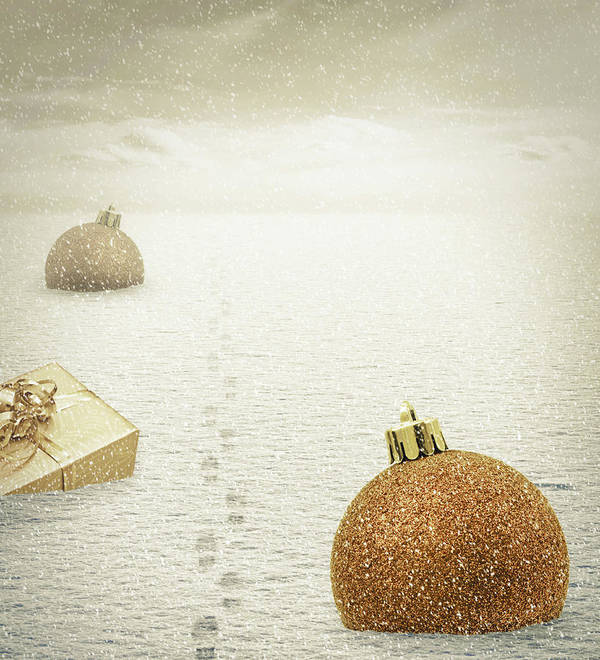 Christmas Poster featuring the photograph Christmas Journey by Wim Lanclus