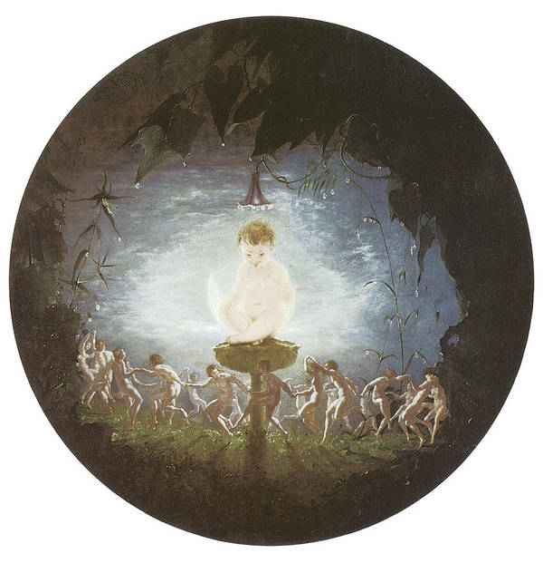 Richard Dadd Poster featuring the painting Puck by Richard Ddadd