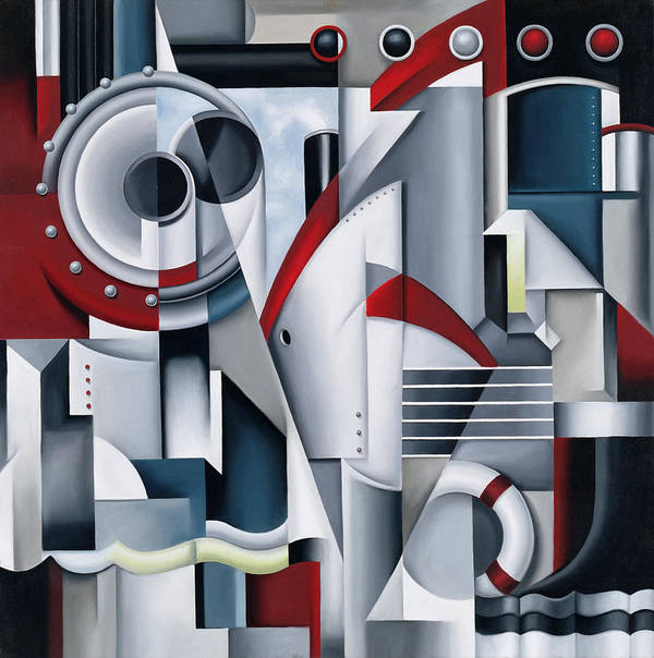 Maiden Poster featuring the painting Maiden Voyage by Catherine Abel