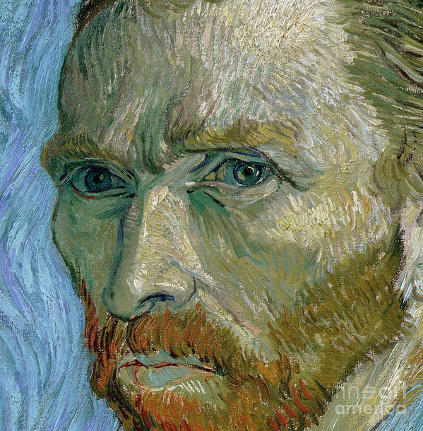 Self Poster featuring the painting Self-portrait by Vincent Van Gogh