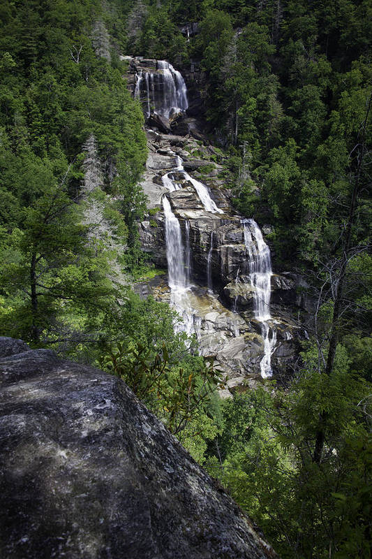 Waterfall Poster featuring the photograph Whitewater Falls by Rob Travis