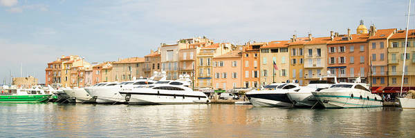 Horizontal Poster featuring the photograph Harbour, St. Tropez, Cote D'azur, France by John Harper