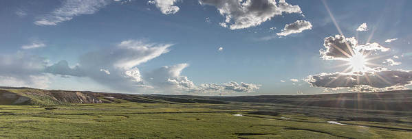 Horizontal Poster featuring the photograph Quiet Prairie by Jon Glaser