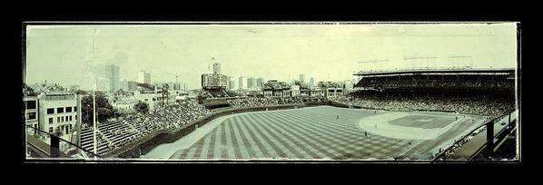 Chicago Poster featuring the photograph The Friendly Confines by Jame Hayes
