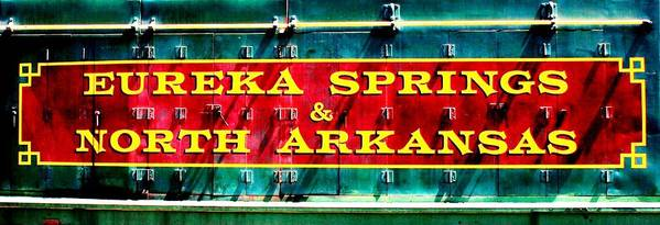 Eureka Springs Poster featuring the photograph The North Arkansas Line by Benjamin Yeager