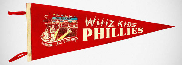 1950 Poster featuring the photograph The Whiz Kids by Bill Cannon