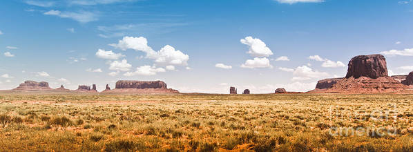 ryankellyphotography@gmail.com Poster featuring the photograph Monument Valley Wide Angle by Ryan Kelly