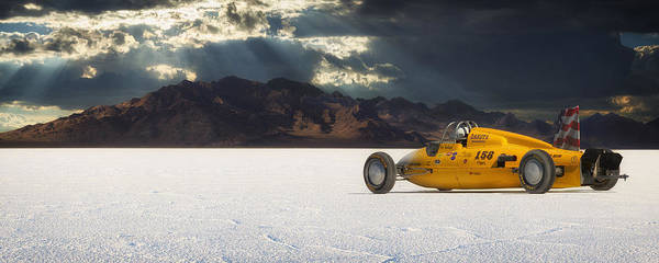 Bonneville Poster featuring the photograph Dakota 158 by Keith Berr