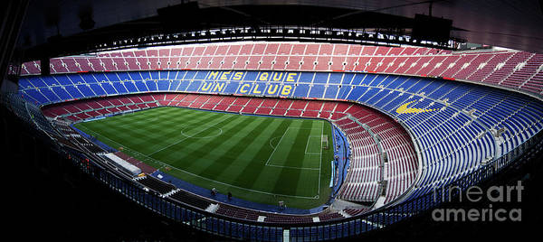 Camp Nou Poster featuring the photograph Camp Nou by Agusti Pardo Rossello