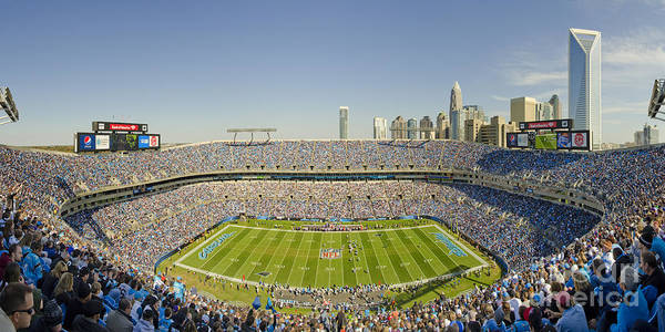 Bank Poster featuring the photograph Boa Stadium Skyline by Clear Sky Images