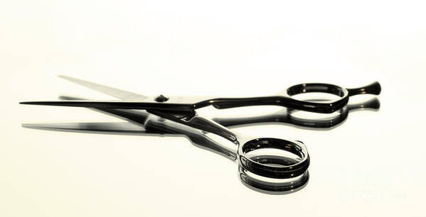 Accessories Poster featuring the photograph Hair Shears by Blink Images