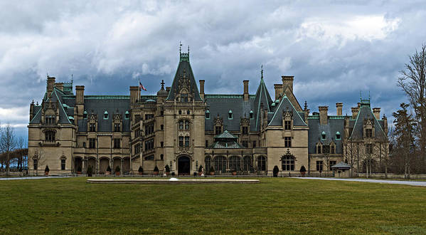 Biltmore Poster featuring the photograph Biltmore Estate by Christopher Gaston