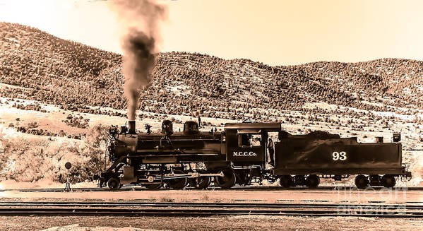 Train Poster featuring the photograph Nevada Northern Railway by Robert Bales