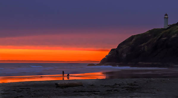 Sunset Poster featuring the photograph Peaceful Evening by Robert Bales