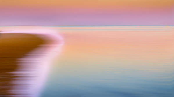 Abstract Poster featuring the photograph Color Of Morning by Bill Wakeley