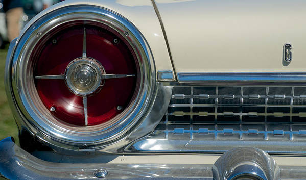 1963 Ford Galaxie Poster featuring the photograph 1963 Ford Galaxie by Mark Dodd