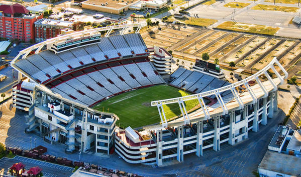 William Brice Stadium Poster featuring the photograph Gamecock Corral by Steven Richardson