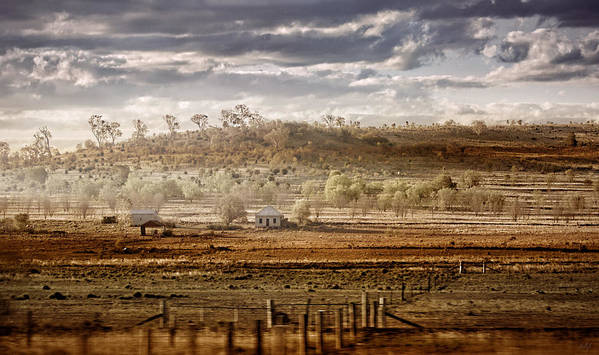Landscapes Poster featuring the photograph Heartland by Holly Kempe
