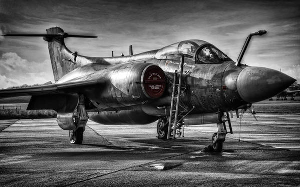 Blackburn Poster featuring the photograph Blackburn Buccaneer by Jason Green