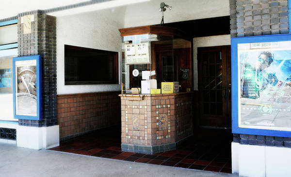 Americana Poster featuring the photograph Box Office 1 by Marilyn Hunt