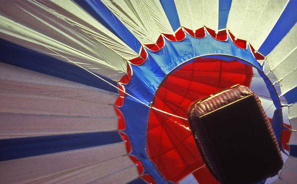 Tennessee Poster featuring the photograph Hot Air Balloon - 1 by Randy Muir