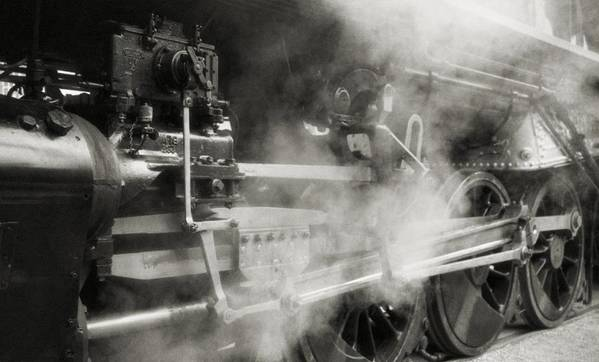 Trains Poster featuring the photograph Steam Power by Richard Rizzo
