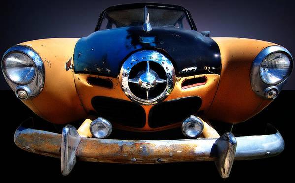 Best Car Poster featuring the photograph Studebaker by Kurt Golgart
