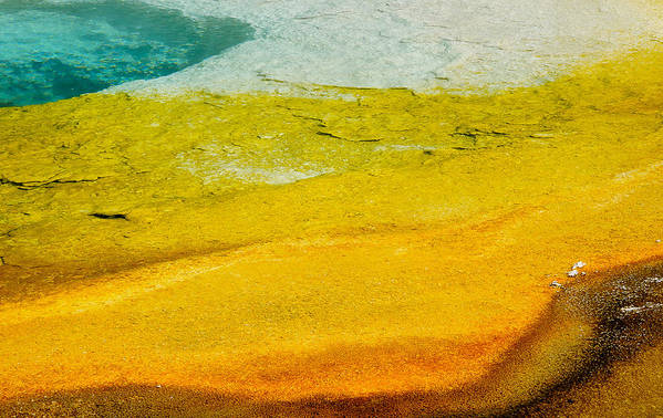 America Poster featuring the photograph Chromatic Pool by Andy-Kim Moeller