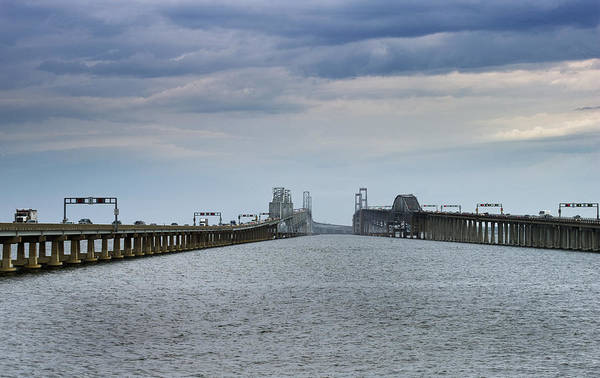 Chesapeake Bay Bridge Poster featuring the photograph Chesapeake Bay Bridge Maryland by Brendan Reals