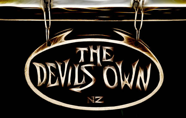 The Devil Poster featuring the photograph Devils Own by Phil 'motography' Clark