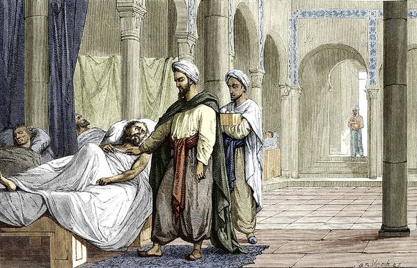 Khalaf Ibn Al-abbas Al-zahrawi Poster featuring the photograph Abulcasis, Islamic Physician by Sheila Terry