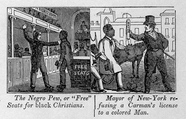History Poster featuring the photograph Cartoons Depicting The Racial by Everett