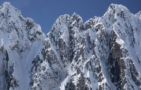Mp Poster featuring the photograph Peaks Of Takhinsha Mountains by Matthias Breiter