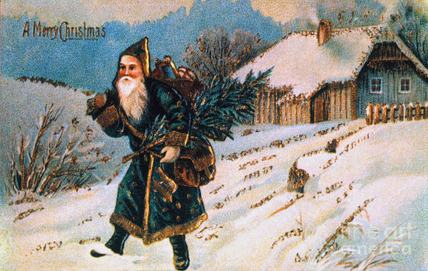 19th Century Poster featuring the photograph Christmas Card by Granger