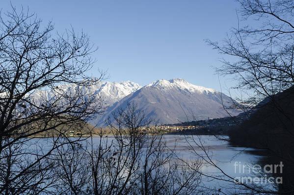 Lago Di Como Poster featuring the photograph Alpine Lake by Mats Silvan