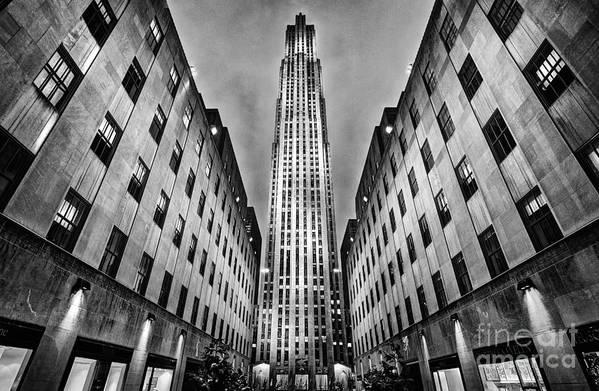 Rockefeller Centre Poster featuring the photograph Rockefeller Centre by John Farnan