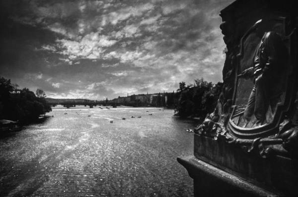 Prague Poster featuring the photograph Vltava by Taylan Soyturk