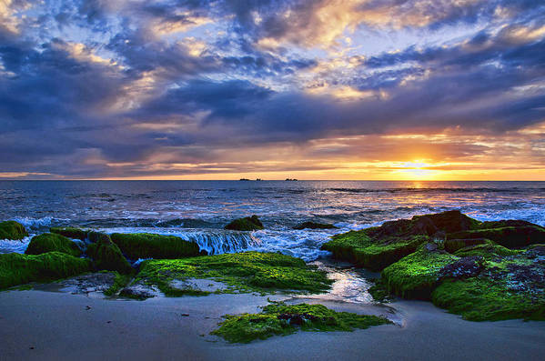 Australia Poster featuring the photograph Burns Beach by Imagevixen Photography