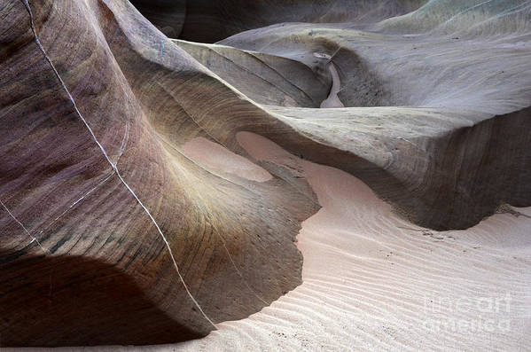 Valley Of Fire Poster featuring the photograph Nature's Artistry In Stone by Bob Christopher