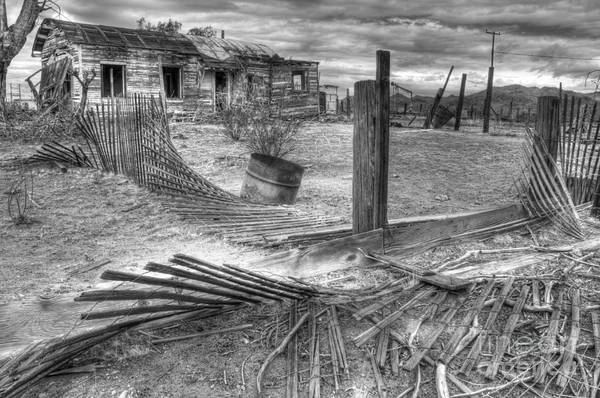 Dreams Poster featuring the photograph Where Does The Story End Monochrome by Bob Christopher
