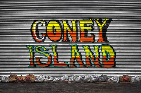 Coney Island Poster featuring the photograph Unsinkable by Evelina Kremsdorf