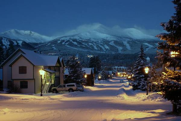 Landscape Poster featuring the photograph Breckenridge Colorado Morning by Michael J Bauer