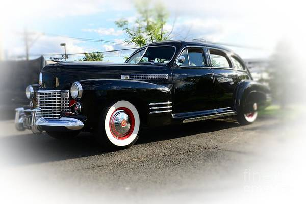 1941 Cadillac Coupe Poster featuring the photograph 1941 Cadillac Coupe by Paul Ward