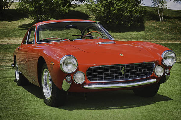 1963 Ferrari Poster featuring the photograph 1963 Ferrari 250 Gt Lusso by Sebastian Musial