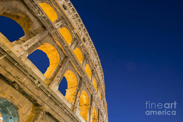 Colosseum Poster featuring the photograph Colosseum by Mats Silvan