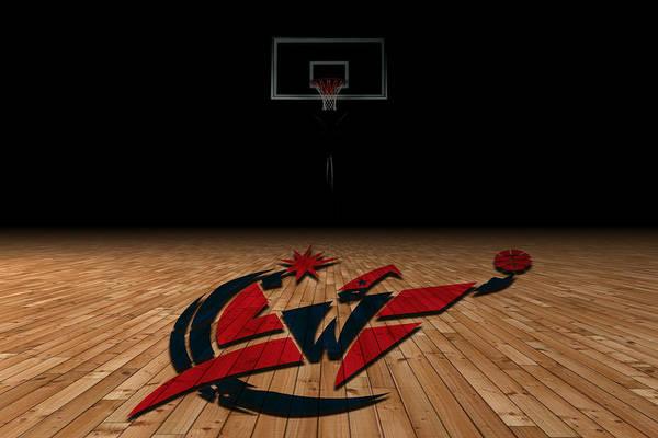 Wizards Poster featuring the photograph Washington Wizards by Joe Hamilton