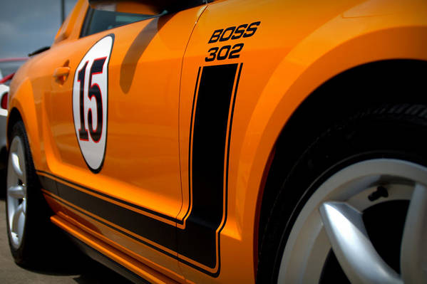 2007 Ford Mustang Poster featuring the photograph 2007 Ford Mustang Saleen Boss 302 by Brian Harig
